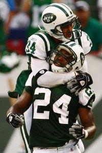 Jets Man Hug