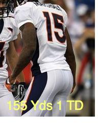 Brandon Marshall WR Broncos