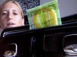 """Jordan is upset to notice her """"wallet condom"""" has expired"""