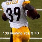 Willie Parker PIT - RB